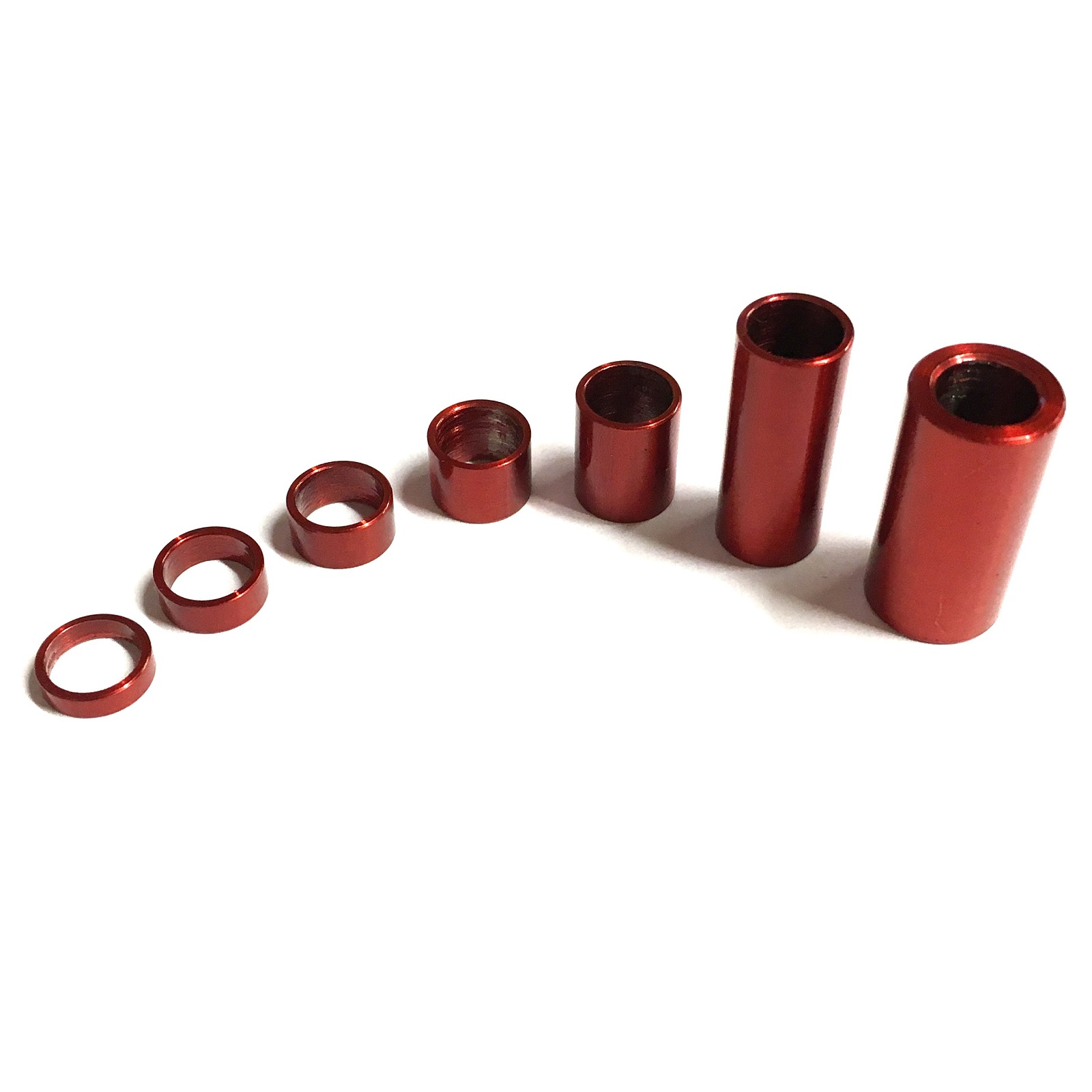 M5 or M6 Stainless Steel tube spacer Standoff 8mm Diameter 6mm hole all lengths