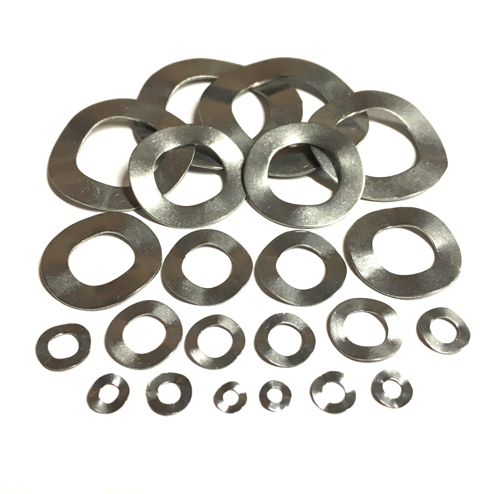 M3.5 A2 STAINLESS STEEL WAVE CRINKLE WASHERS