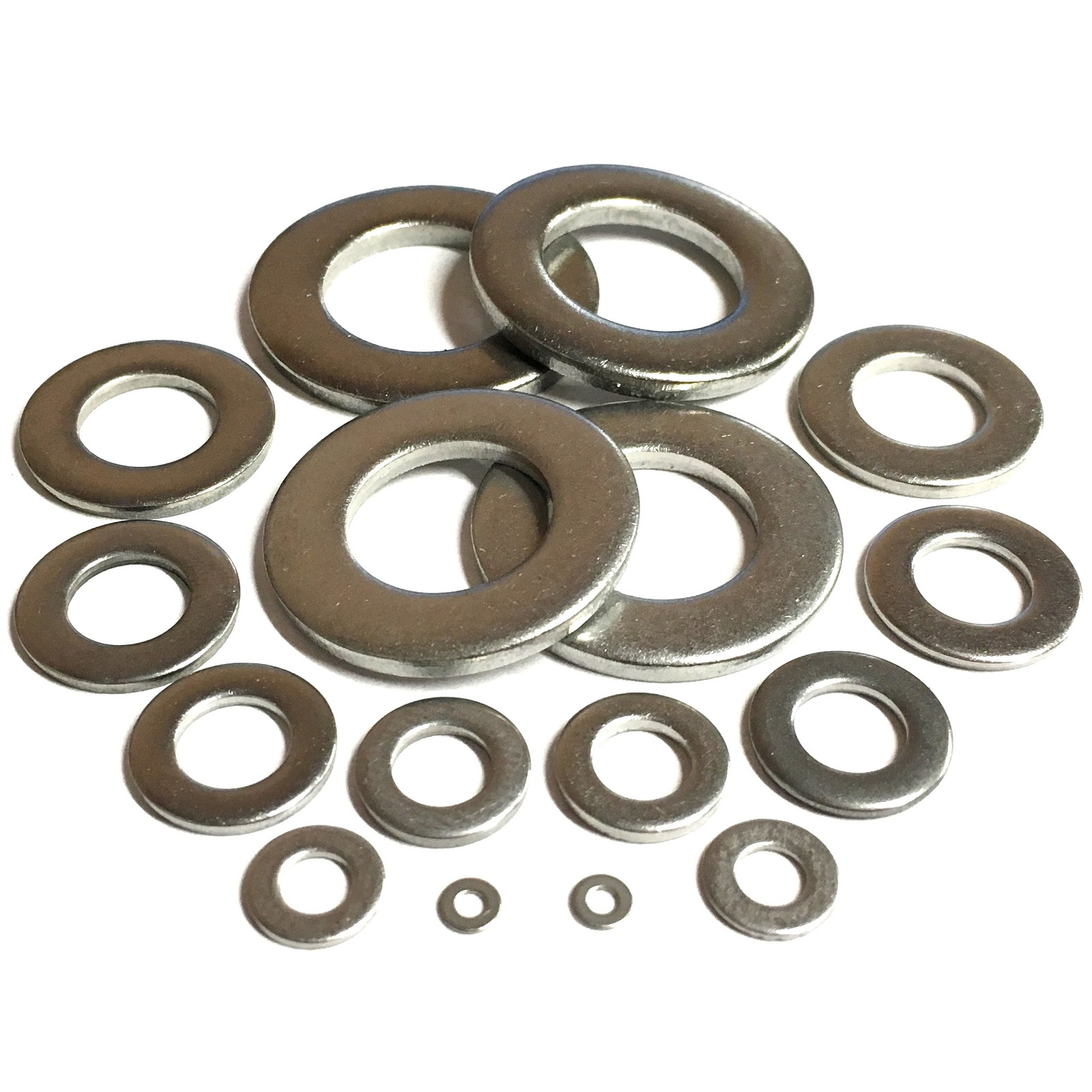 A2 M8 Stainless Steel Flat Washer pack of 10